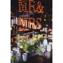 Letter Lights MR&MRS