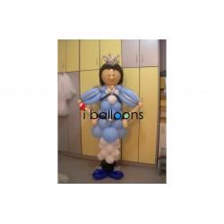 Μπαλόνια βάπτισης Πρίγκηπα, για αγόρι, στην Κηφισιά Μπαλόνια Βάπτισης Special