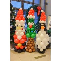 Μπαλόνια Χριστουγεννιάτικα