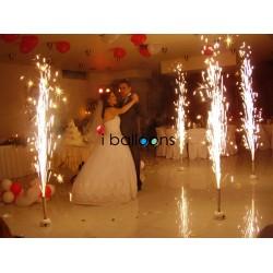 Πυροτεχνήματα Συντριβάνια Γάμου για δεξίωση, στην Πάρνηθα Ειδικά Εφέ Γάμος
