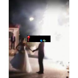 Πυροτεχνήματα γάμου - Eίσοδος